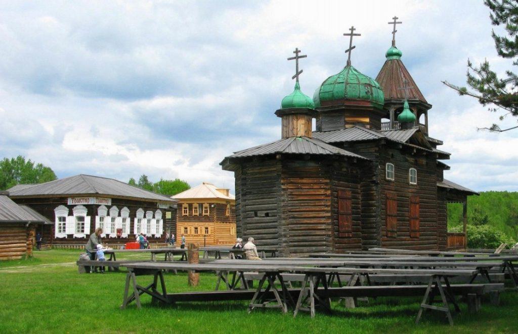 Тальцы, Байкал